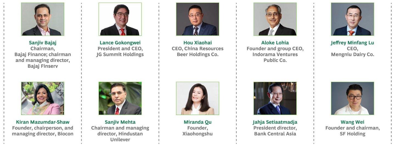 BCG가 선정한 아시아 최고의 리더 10인